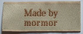Label Made by mormor